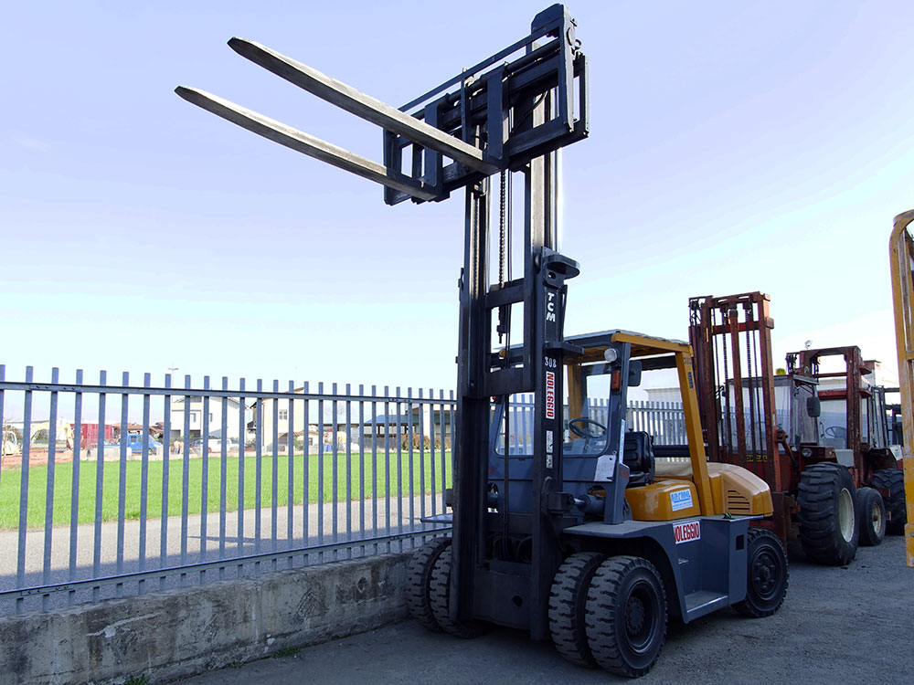 Carrelli elevatori nuovi-usato-noleggio | Bergamo - Rip Rent srl